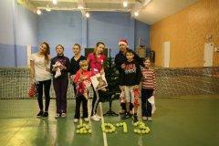 31/182: Новогодний турнир 2013; 1 место - Лена, 2 место - Вероника, 3 место - Даша,   4 место - Андрей, 5 место - Катя, 6 место - Настя, 7 место - Маша.