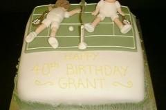 10/34: Торт для тенниса